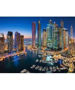 151813 - Puzzle Rascacielos de Dubai, 1500 piezas, Castorland