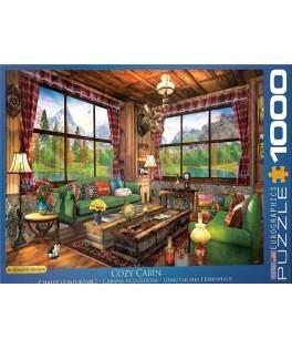 5377 - Puzzle Cabaña Acogedora, 1000 piezas, Eurographics