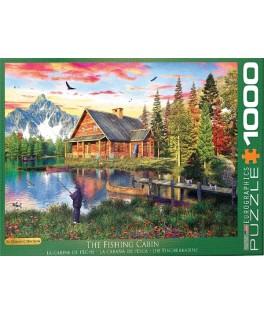 5376 - Puzzle La Cabaña de Pesca, 1000 piezas, Eurographics