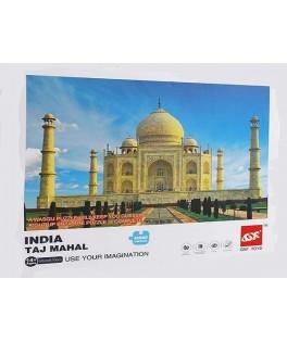 1167 - Puzzle Taj Mahal, 1000 piezas Gxf Toys