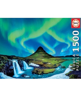 19041 - Puzzle Aurora Boreal, 1500 piezas, Educa