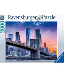 16011 - Puzzle De Brooklyn a Manhattan, 2000 piezas, Ravensburger