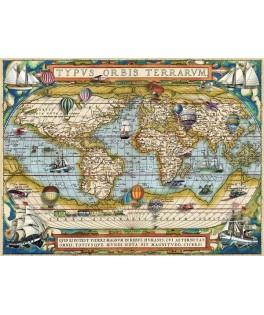 16825 - Puzzle Alrededor del Mundo, 2000 piezas, Ravensburger