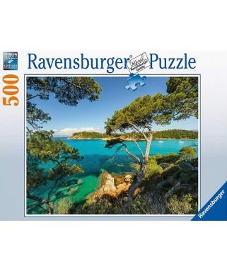 16583 - Puzzle Vista Sobre el Mar, 500 piezas, Ravensburger