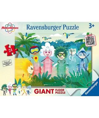 3068 - Puzzle Meteo Heroes, 24 piezas, Ravensburger