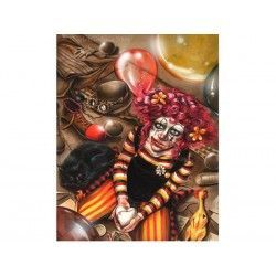 30035 - Puzzle Clown Girl, Scarlet Ghotica, 1000 piezas, Editions Ricordi