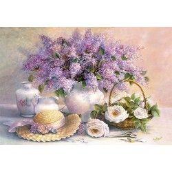 102006 - Puzzle Día de la Flor, Trisha Hardwick, 1000 piezas, Castorland
