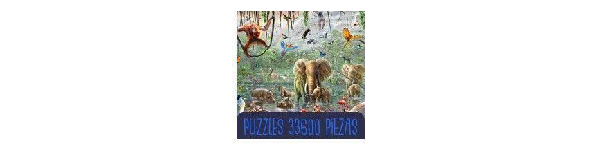 Puzzle 42000 piezas y 33600 piezas