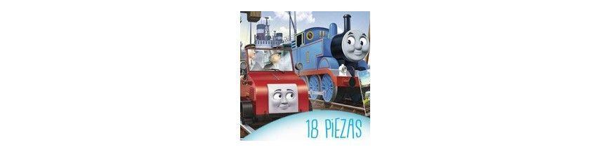 Puzzles infantiles 15 y 18 piezas