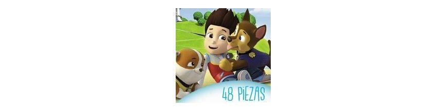 Puzzles infantiles 48 piezas